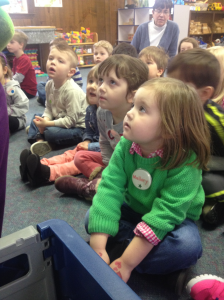 Listening carefully to Heidi