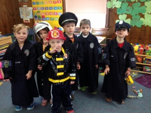 Cathy's Nursery School's Rescue Heroes!